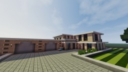 ~Script~ Modern house Minecraft Map & Project