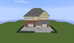 Fully Redstone Functional 3 Bedroom House Minecraft Map & Project