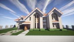 Kanomata's Modern House Minecraft Project