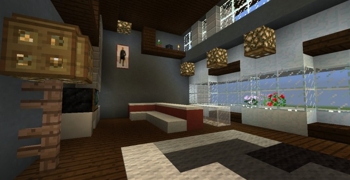 craft house lubbock small modern house minecraft project 1516