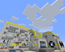 The Diamond Minecart's Super Lab -|- Bigger than ever! Minecraft Map & Project