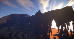 Lava island environment