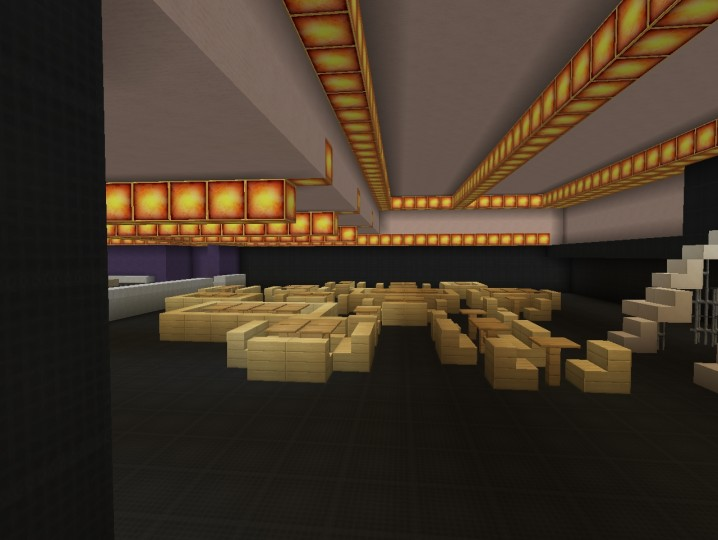 Hells kitchen minecraft project for Dining room minecraft