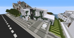Modern Concept Home - on World of Keralis (WoK) server Minecraft