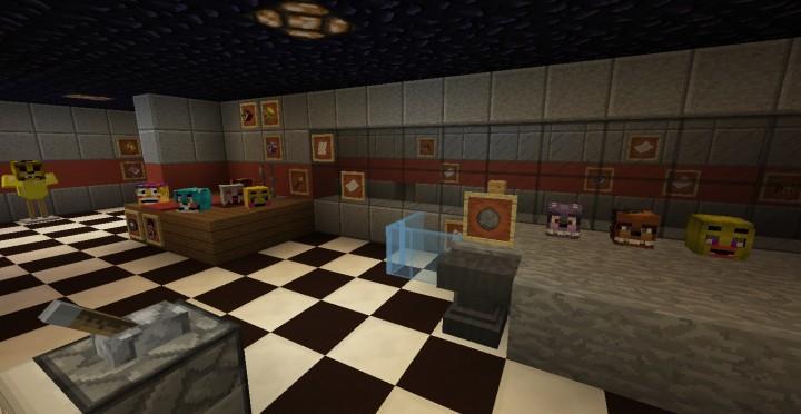 Fazbear's Fright (FNAF 3) Minecraft Project