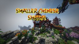 Smaller chinese shrine design Minecraft