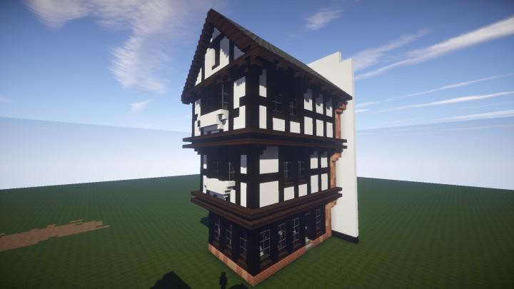 British Tudor House Shop Minecraft Project