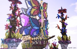 The FlutterBye : A boat by snazzbot Minecraft Map & Project