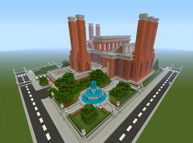 Minecraft Industrial Craft Automatic Factory