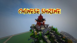 Chinese Shrine design Minecraft