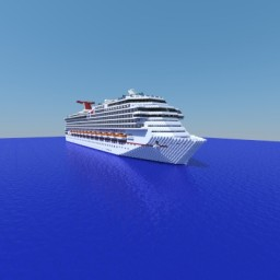 Carnival Freedom [1:1 Scale] + [Full Interior] [1.7] Minecraft Map & Project