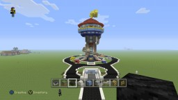 Paw Patrol Lookout Minecraft Project