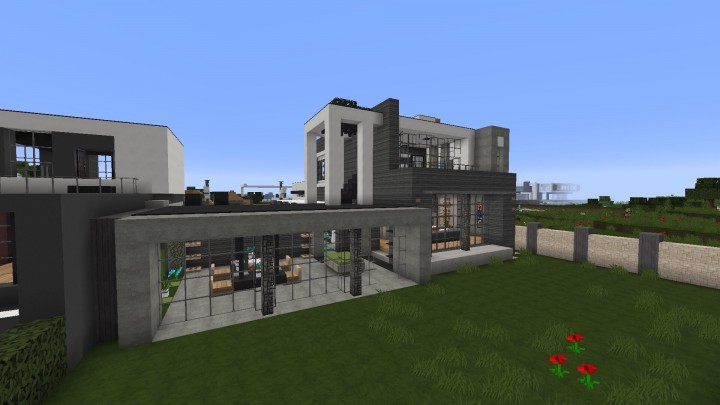 craft house lubbock modern house minecraft project 1516