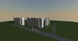 Moscow city lyon Lublino scale 1:1 Minecraft Map & Project