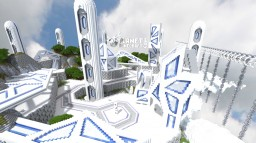 Symphony Sky City of Tomorrow Minecraft Map & Project