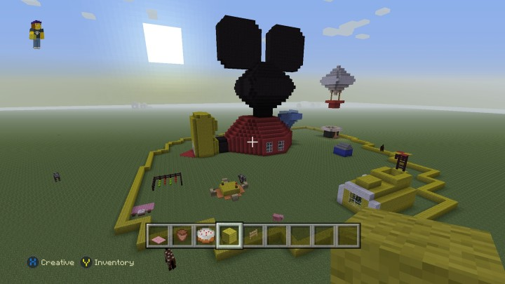 Mickey Mouse Clubhouse Minecraft Project