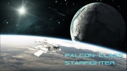 Falcon-Class Starfigter Minecraft Map & Project