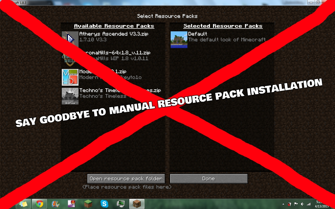 How To Make A Resource Pack Automatically Install With A Map - Minecraft server mit mods erstellen 1 8 9