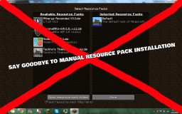 How To Make A Resource Pack Automatically Install With A Map Minecraft