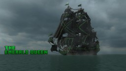 1st rate Pirate Galleon: ~*{The Emerald Queen}*~ FULL Interior build - World DL Minecraft