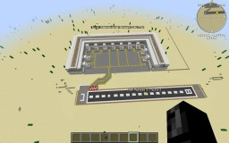 [Minecraft's Biggest] Functional Flan's Mod Airport Minecraft Map & Project