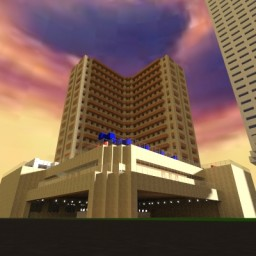 THE MEGA REBUILD:Dusit Thani Manila Minecraft Map & Project