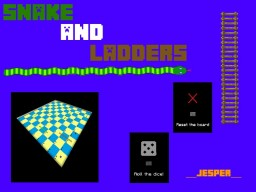 Snake and Ladders in Minecraft