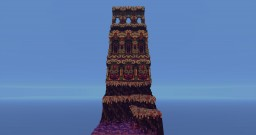 Purple Pattern Minecraft Map & Project