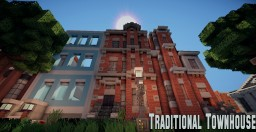 Traditional Townhouse | WoK Minecraft Map & Project