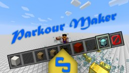 [CMD] Parkour Maker Minecraft Project