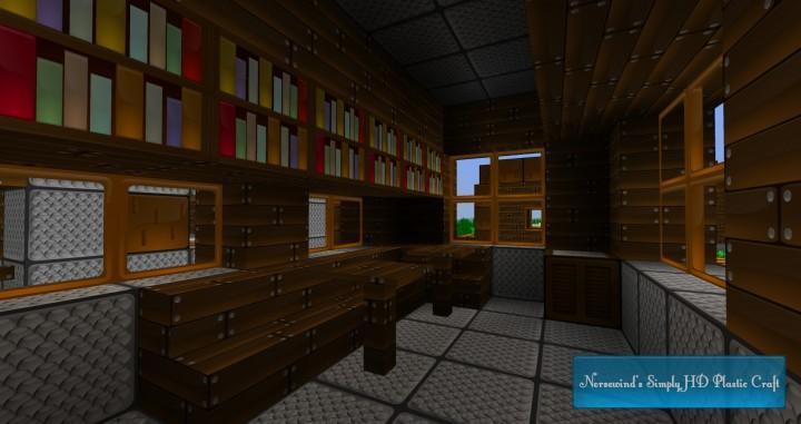 Library in an NPC village