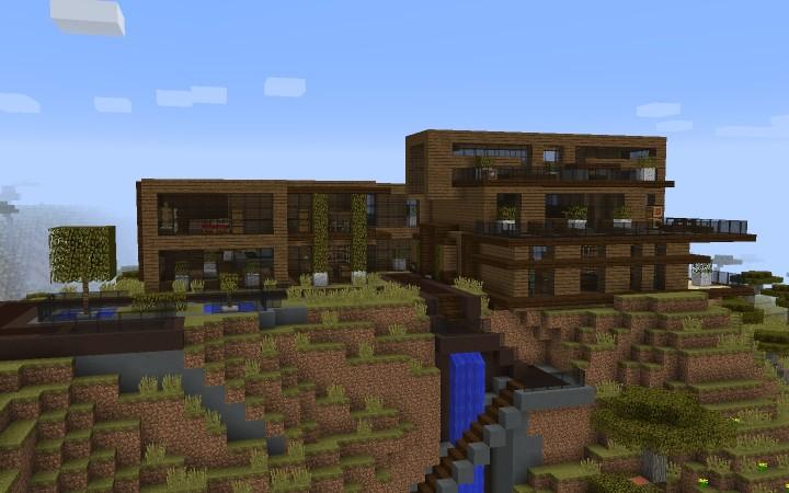 Modern House Default Texturepack Minecraft Project