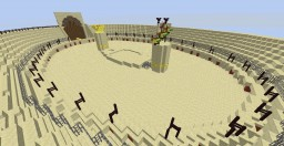 """Signe du Triomphe"" of Puy du Fou in Minecraft"