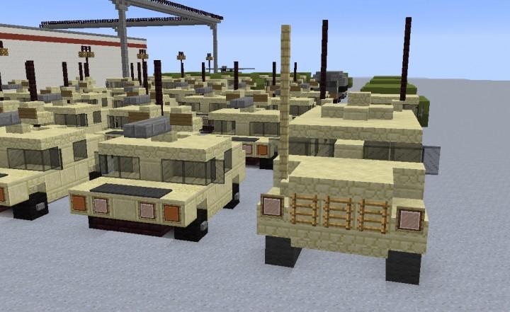 Older version Comparison to the older Humvee