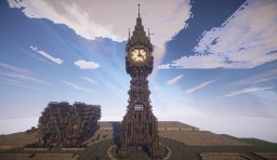 Steampunk Clocktower - Blackditch Minecraft