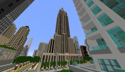 The Empire State Building New York City Minecraft Map & Project