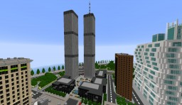 Old World Trade Center ~1:5 Minecraft Map & Project