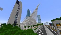 World Trade Center Transportation Hub Minecraft Map & Project