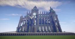 Prismarine Cathedral Minecraft
