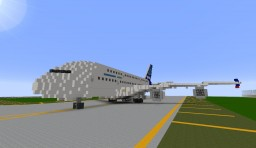 Airbus A380 Minecraft Project