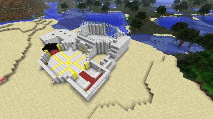 Dr.Trayaurus's lab (TDM) Minecraft Project
