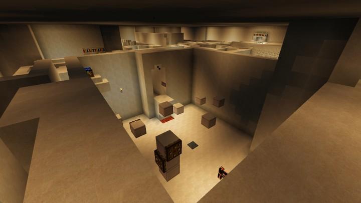 random floating blocks