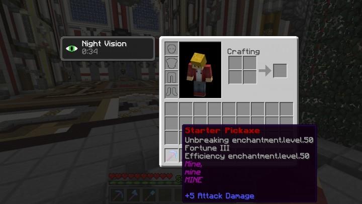 Cosmic Realm PRISON Minecraft Server