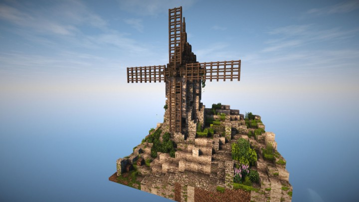 [Schematic] Medieval Windmill Minecraft Project