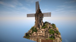 [Schematic] Medieval Windmill Minecraft