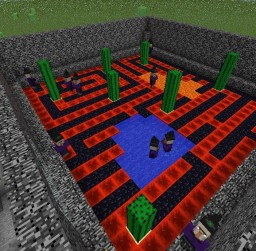 Witch Arena Minecraft Map & Project