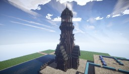 Steampunk Lighthouse - Blackditch Minecraft