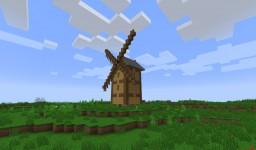Wind Mill Minecraft Map & Project