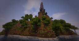 Plug and play forest island Minecraft Map & Project