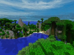 Lost Island (Puzzle / Adventure Map) - Now With Download!! Minecraft Map & Project